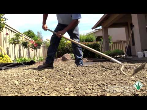 HOW TO INSTALL ARTIFICIAL TURF GRASS LAWNS BELLE VERDE