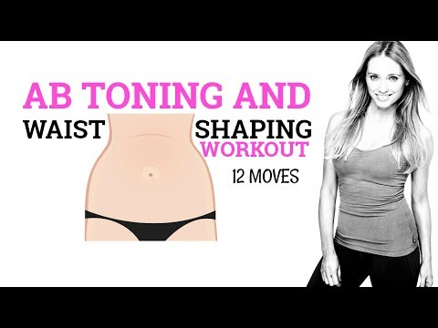 7 MIN ABS AND WAIST WORKOUT FOR WOMEN - HOME WORKOUT