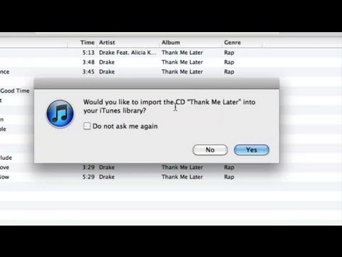 How to Copy a CD on iTunes : Using iTunes