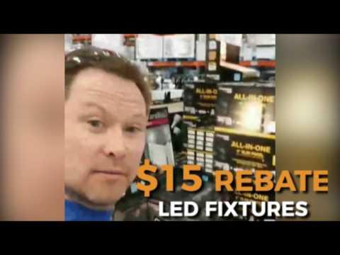 Alberta Energy LED Light Bulb Fixture REBATE