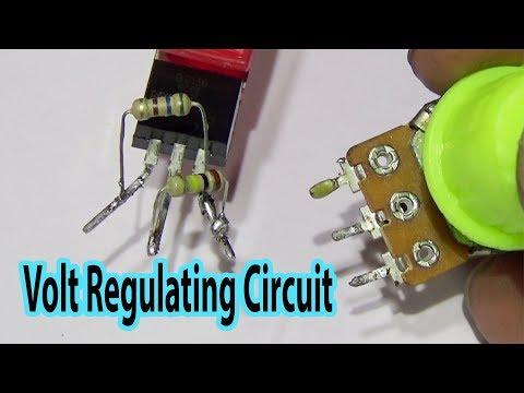How To Make AC Volt Regulating Circuit Easily