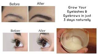 Grow Your Eyelashes Eyebrows In Just 3 Days Eyelash And Eyebrow Serum
