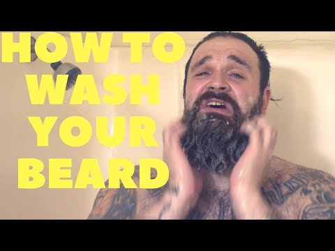 How to wash your beard and take care of it afterwards