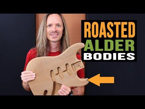 Warmoth Roasted Alder Bodies