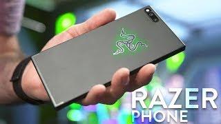 Razer Phone: Unboxing + Impressions w/ 120Hz Display!