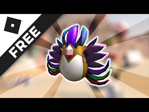 FINDING FREE HATS ROBLOX - How to Get The Eggdress of the Chief Egg - Egg Hunt 2017