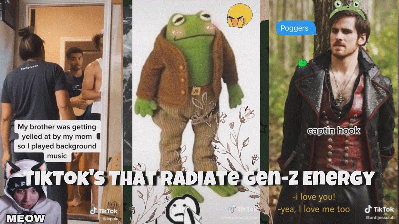 Tiktok's That Radiate Gen-Z Energy ✨