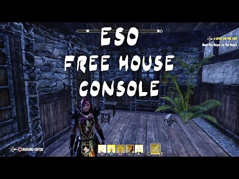 ESO Free House How-To on Console