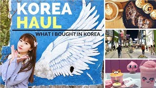 Download Korea Haul - What I Bought in Korea | KOREA TRAVEL GUIDE Video