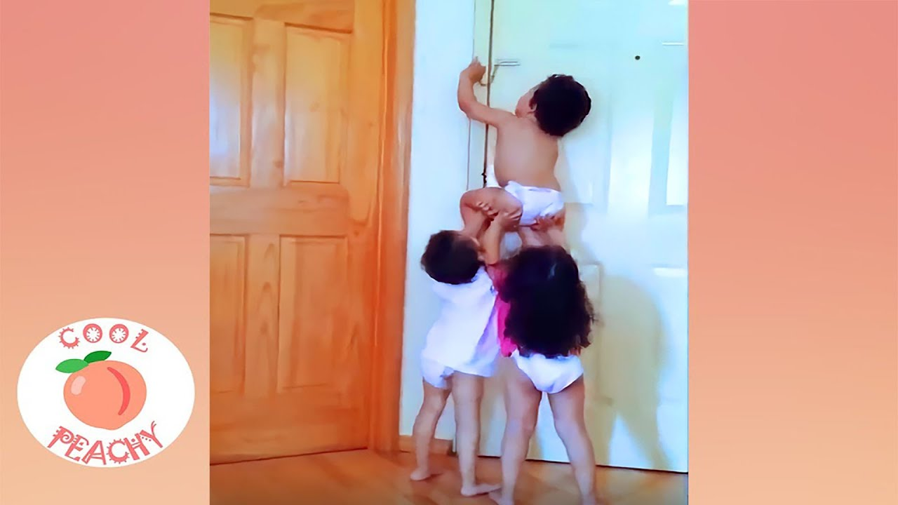 Naughty Baby's Funniest Moments #3 ||  Funny Baby Video