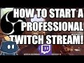 How to Set Up a Professional Twitch Stream / My Streaming Setup