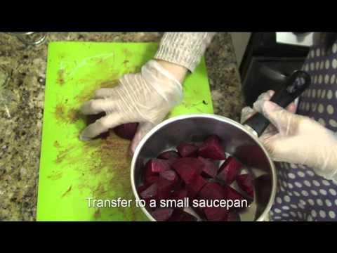 How to Make All Natural Red Food Coloring - from Vegetable (Beets)