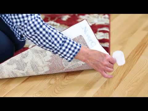 Rug Gripper with NeverCurl - Stops Rug Slipping and Curled Corners
