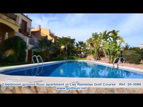 Ref: 20-3086 -  2 bedroom ground floor apartment in Las Ramblas Golf Course