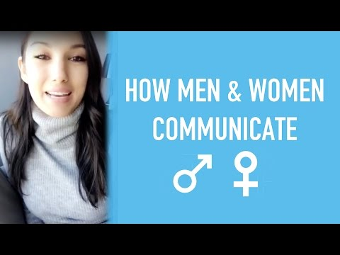 How Men & Women Communicate Differently in Relationships