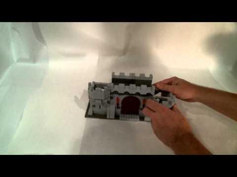How to Build a small Lego Modular Castle