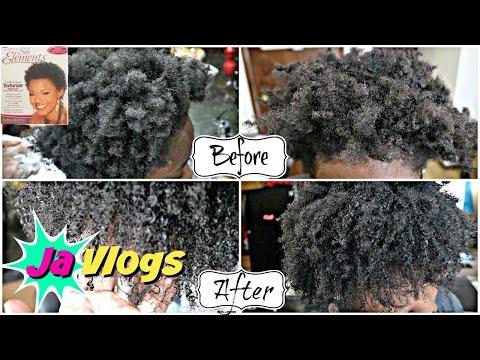 She Got A Texturizer😯 4C Hair | Silk Elements Texturizer | Family Vlogs | JaVlogs