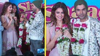 Rajkummar Rao Got Married To Kriti Kharbanda At Shaadi Mein Zaroor Aana Trailer Launch