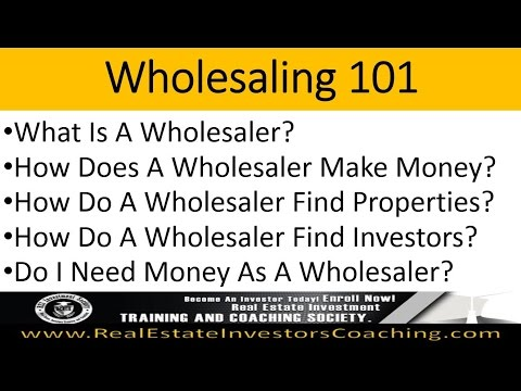 Real Estate Wholesaling Your Way To 6 Figures 3-1-17