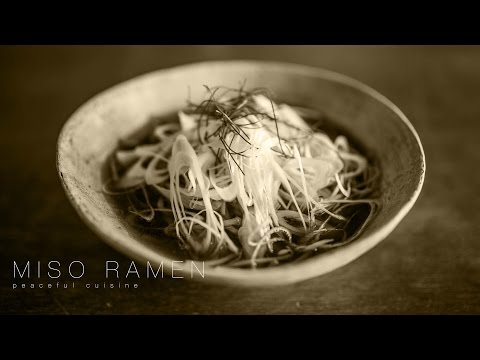 [No Music] How to Make Miso Ramen