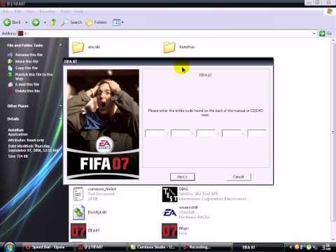 How to solve directx error on Fifa 07 installation