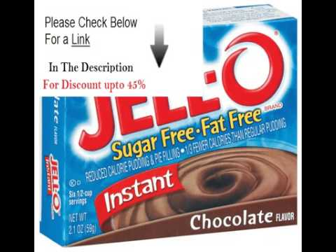 Clearance Jell O Pudding & Pie Filling Instant Chocolate Sugar Free & Fat Free   24 Pack Review