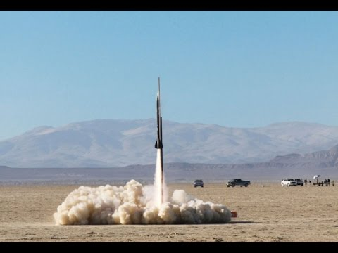 Fully-loaded homemade rockets that can go supersonic