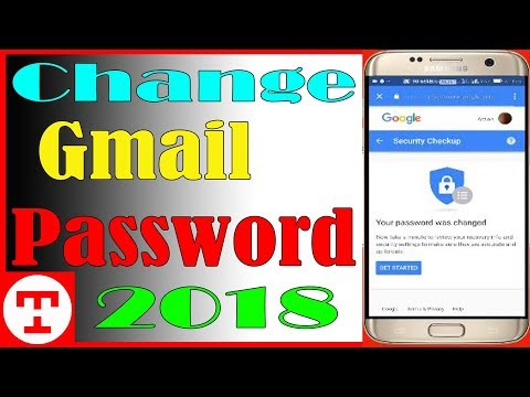 How to Change Gmail Password in Android Mobile 2018