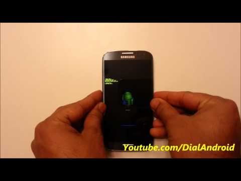 Android recovery mode in Galaxy S4