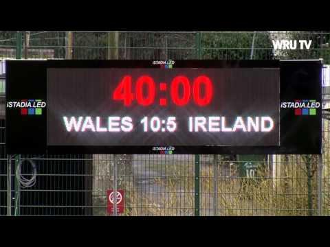 HIGHLIGHTS: Wales Women 15 v 5 Ireland Women   WRU TV