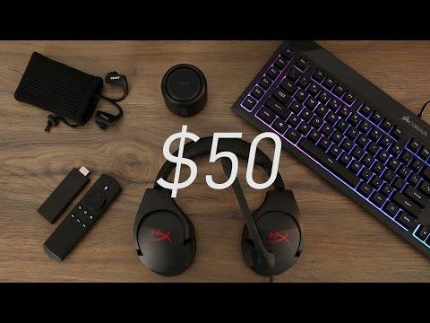 The Best Tech Under $50 - January 2017