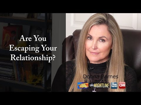 If You Escape Your Relationship You're Going To Lose it