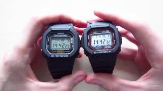 Casio G-Shock DW-5600 vs GW-5610 - A Comparison