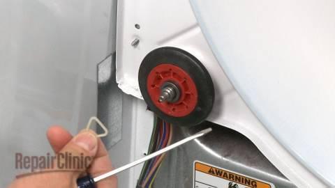Noisy Duet/HE3 Dryer? Drum Roller Replacement #W10314173