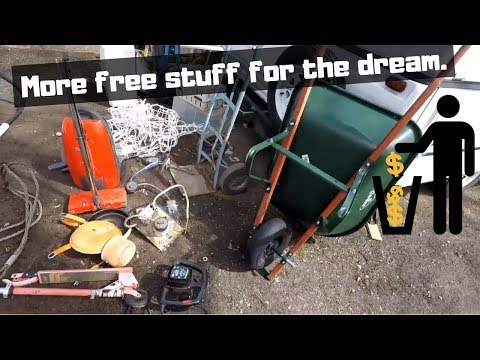 Treasure in the Trash Garbage Picking Vlog No.3 Appliances & Truck full of scrap!