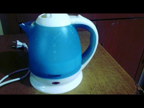 How to boil milk in electric kettle.... At home..👉🍶🍼Warning