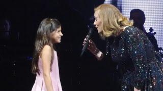 Adele & Little Girl / Rumour Has It, Köln 2016-05-14 Cologne
