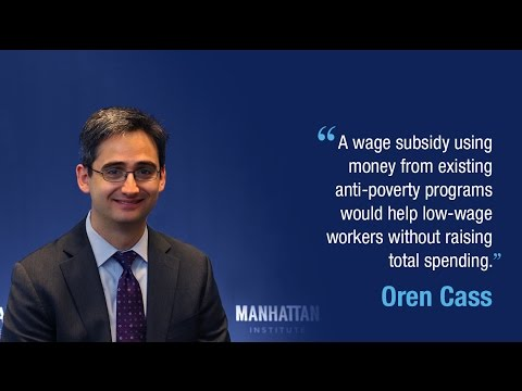 Minimum Wage Alternative: Serious Policy Ideas for the Next Administration