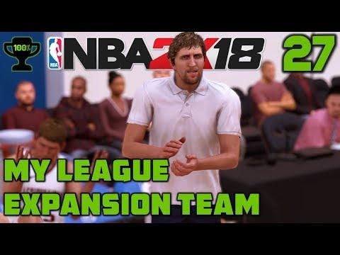 NBA 2K18 My League Ep. 27: Dirk [Realistic NBA 2K18 My League Expansion]