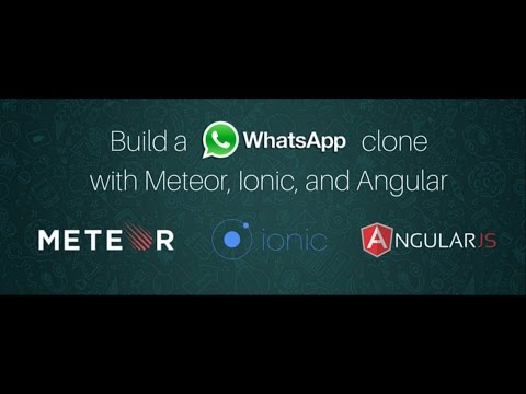 How to create a Whatsapp clone using Ionic2 and Meteor - step 7