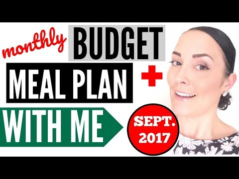 MONTHLY MEAL PLAN IDEAS ● HOW TO MAKE A CHEAP GROCERY LIST ● MEAL PLANNING WITH ME ON A BUDGET