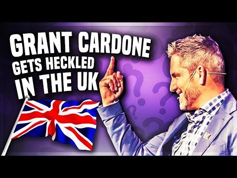 Grant Cardone Gets Heckled in UK And Handles It Like A Boss