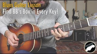 My Secret Blues Trick - How to Play Like BB King in Every Key!