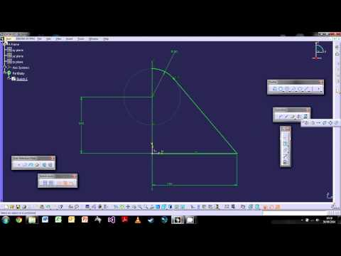 CATIA V5: The Basics - Tutorial 2: The Sketch Workbench