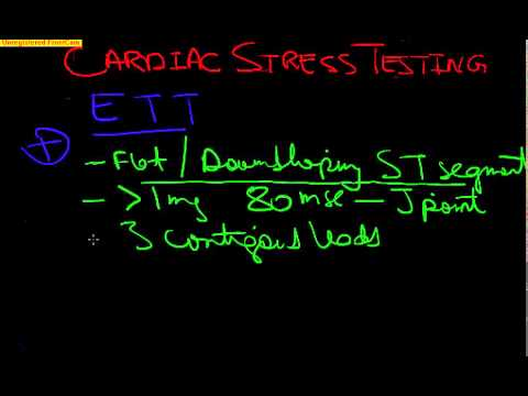 Board Review Cardiology-1 CARDIAC STRESS TESTING, Exercise Test, Stress ECHO, Myocardial Perfusion