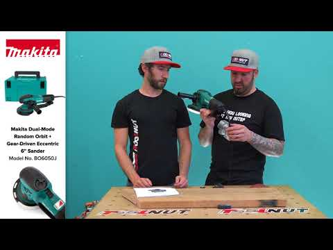 Makita Dual Mode 6-Inch Sander BO6050J | The Tool Nut
