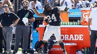 Marshawn Lynch Loses His SH*T on Raiders Sideline