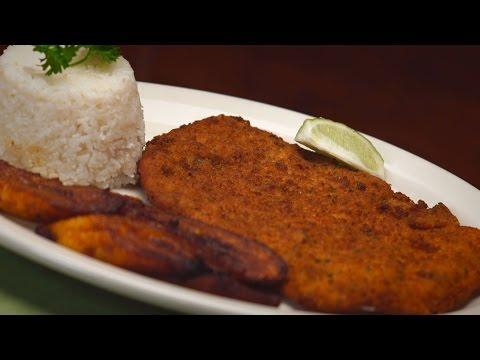 Breaded Steak, GUARAPO's Cuban Cuisine