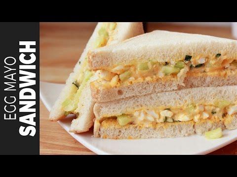 এগ মেয়নেজ স্যান্ডউইচ | Egg Mayo Sandwich | Egg Salad Sandwich | Bangladeshi Snacks Recipe