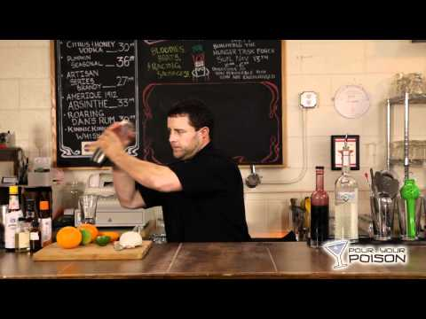 How to Make a Gin and Sin, a Prohibition Era Cocktail